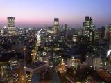 六本木方面から赤坂方面の夜景