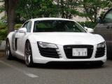 Audi R8フロントビュー3