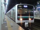 小山行き2768M(E501系K753編成)