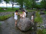 牧場02(水遊び3兄弟1)