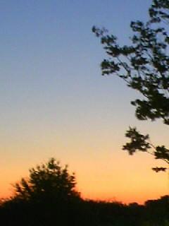 朝焼けの風景2