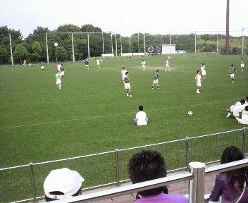 サッカー観戦 ①