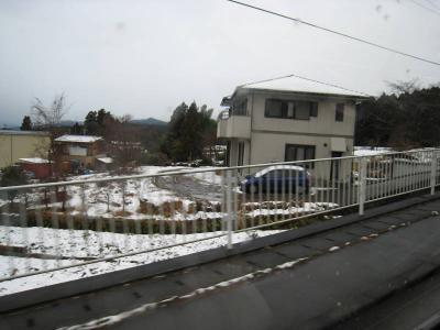 初めての雪 ①