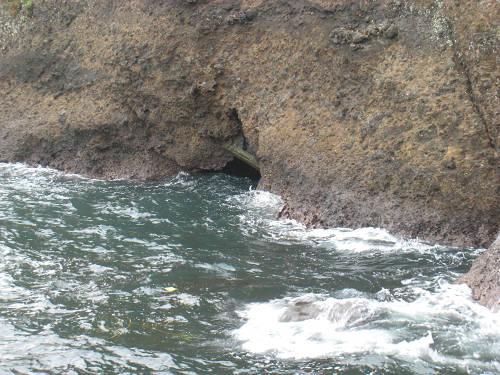 汐吹き岩③