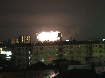 江戸川の花火2