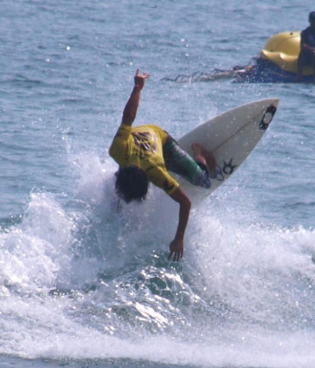 サーフィン世界大会競技