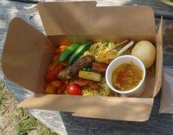 スリランカのお弁当