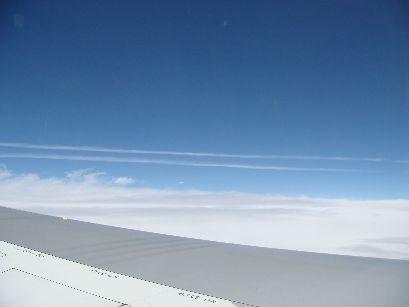 飛行機雲はいいなああ