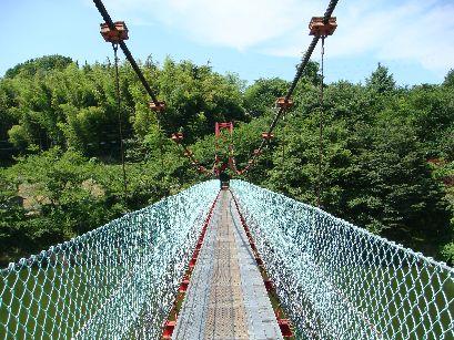 トックリコのつり橋