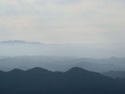 高城山より