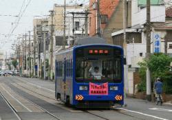 帝塚山3丁目~帝塚山4丁目間(2009.7.11)