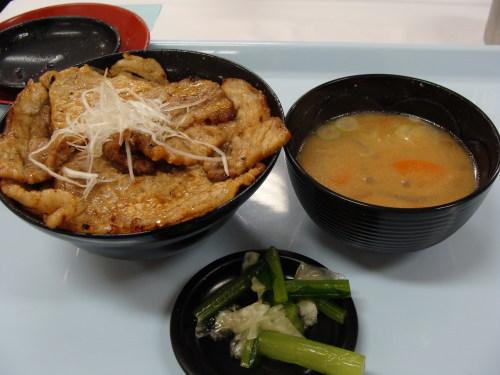 ホエー豚丼② 2009.02.11