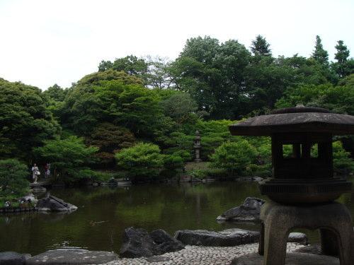 古河庭園09 日本庭園02 2009.05.21