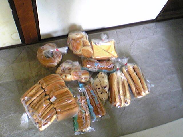 アウトレットのパン