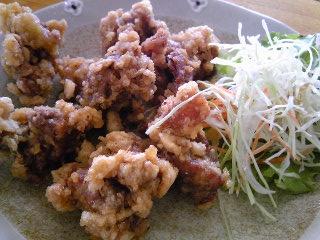 「地鶏唐揚」めし屋(那珂川町)