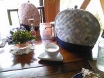 「紅茶蒸らし中」森のガーデンカフェ Avonlea(鹿児島