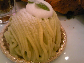 「枝豆のモンブラン」ピエトロセントラーレ(福岡市)