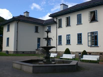 旧領事館バックヤード