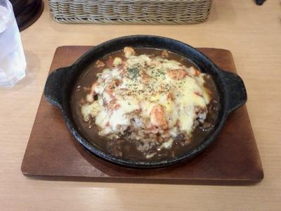 カリフェ_トマトチキン焼きカレー