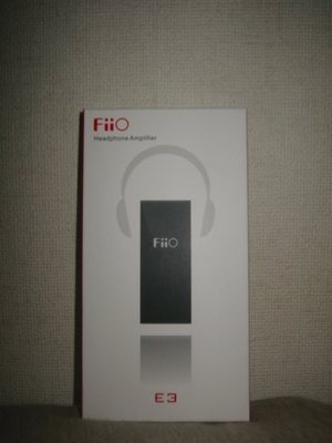 FiiO_E3_パッケージ