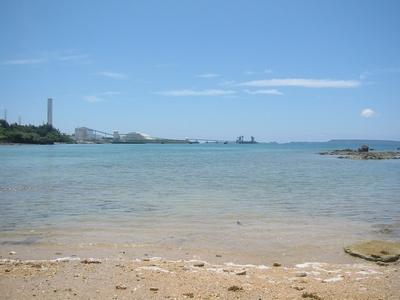 金武酒造_付近の海岸