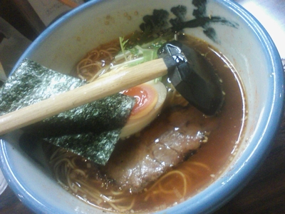 AFURI_紅醤油麺