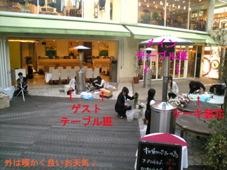 青山 レストラン 結婚式 二次会