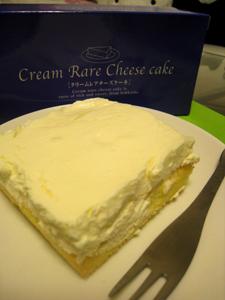 クリームレアチーズケーキ