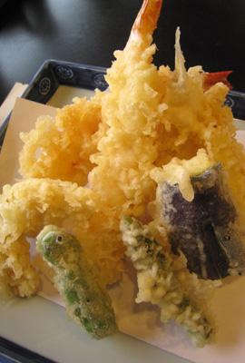 天ぷらご膳