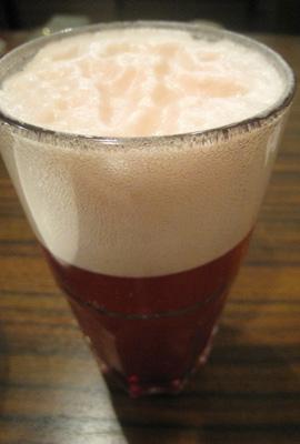 カシスビール