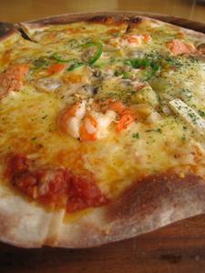 花の大地きまぐれピザ