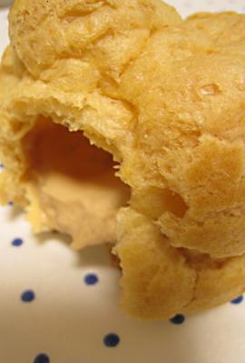 塩キャラメルシュークリーム
