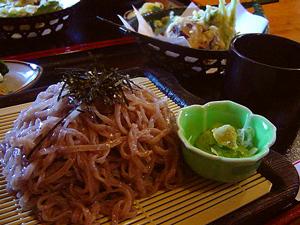 古代紫米麺