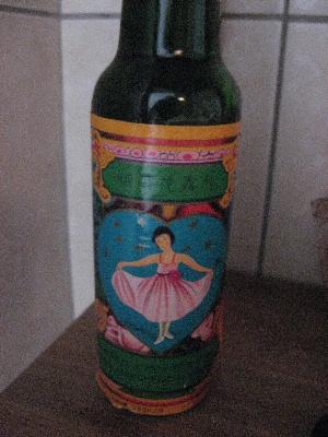 バレリーナのビン