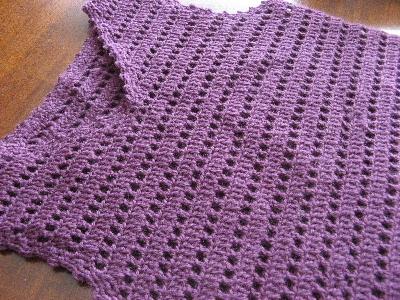 紫のチュニック