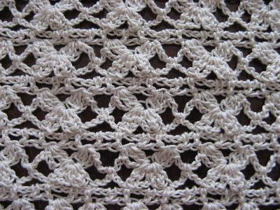 模様編み バイオレット