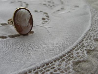 カメオの指輪
