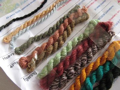 イギリスの毛糸