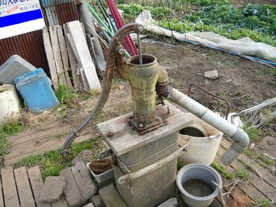 懐かしい 井戸