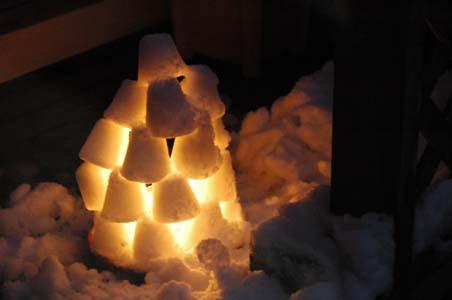 雪灯籠2009 1
