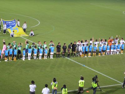 サッカー観戦2