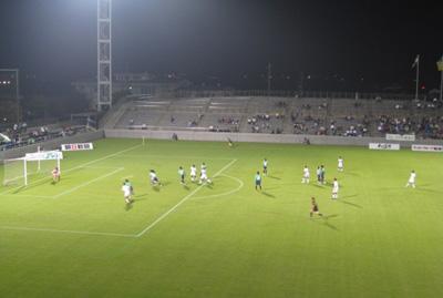 サッカー観戦3