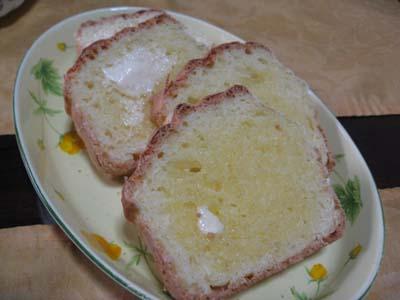 ホットケーキミックスでパン3