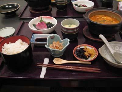 太平楽の日替わり定食