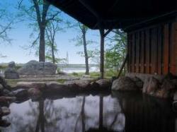 観月苑の露天風呂