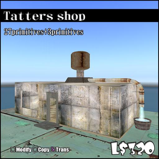 Tatters shop