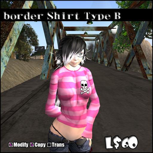 border Shirt Type_B