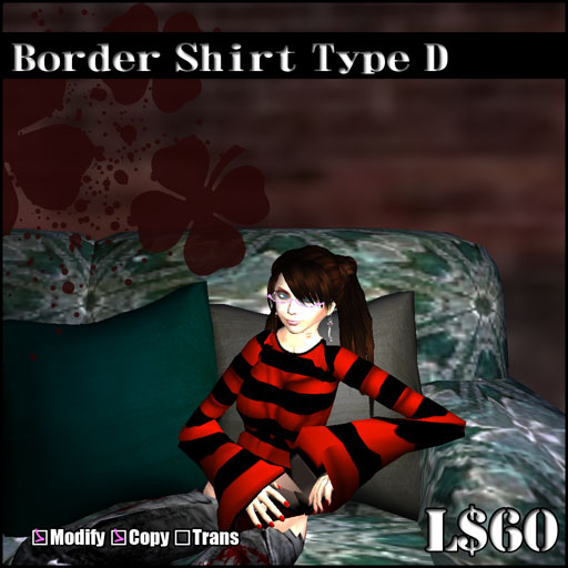 Border Shirt Type D