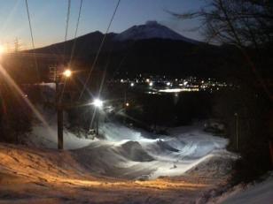 軽スキ夜景