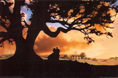 美しい夕空と共に流れるテーマ曲が印象的